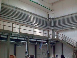 Impianti di riscaldamento nel settore industriale, terziario e civile